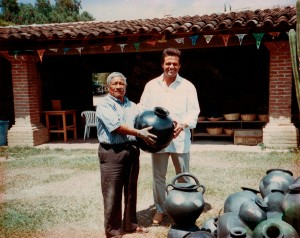 Don Valente y Luis Miguel